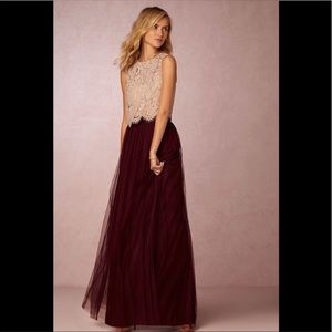 Jenny Yoo Tulle Skirt